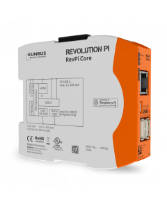 RevPi Core powered by Raspberry Pi