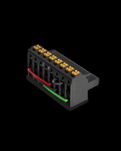 X4 Stecker 8-polig inkl. vorkonfektionierte Kabelbrücken