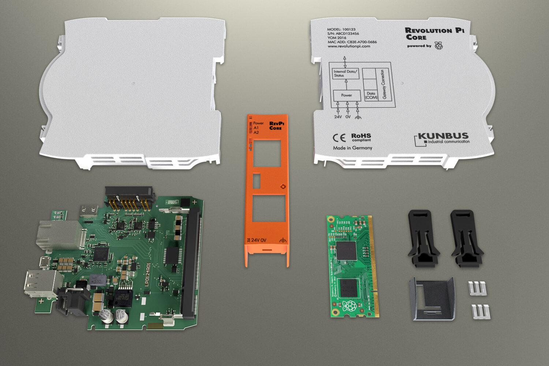 Revolution Pi Core Einzelteile
