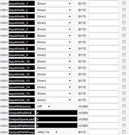 Value Editor Screenshot