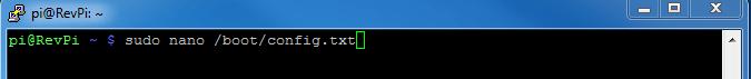 Open configuration file Screenshot