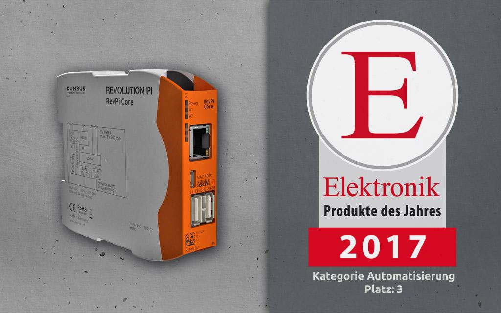 Elektronik Award Product of the year 2017