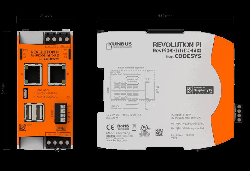Modulare Kleinsteuerung mit CODESYS basierend auf Raspberry Pi